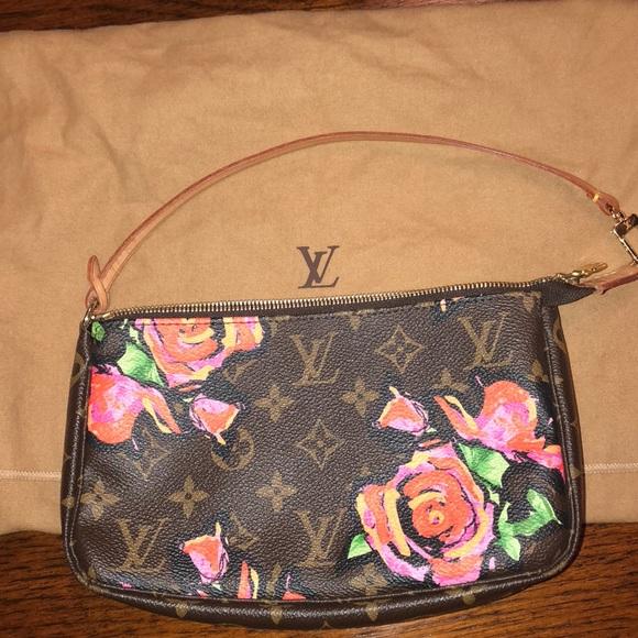 e7e48df2625d Louis Vuitton Handbags - Louis Vuitton Painted Floral Pouchette